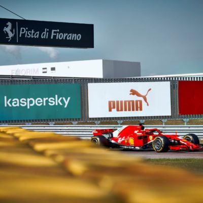 Mick Schumacher, Ferrari, Fiorano. Credit: Ferrari