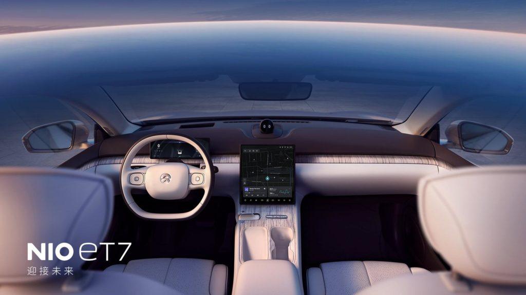 NIO stellt den neuen ET7 vor