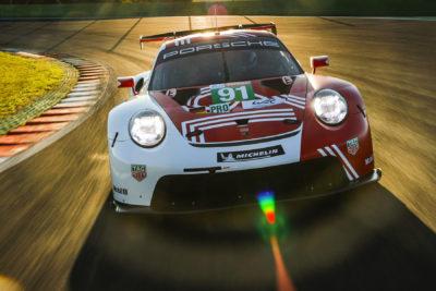 Porsche 911 RSR Credit: Porsche