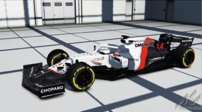 Porsche Formel 1. Credit: Assetto Corsa