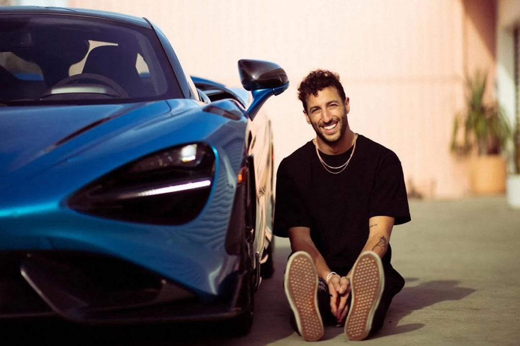 Daniel Ricciardo Credit: Ricciardo/Instagram