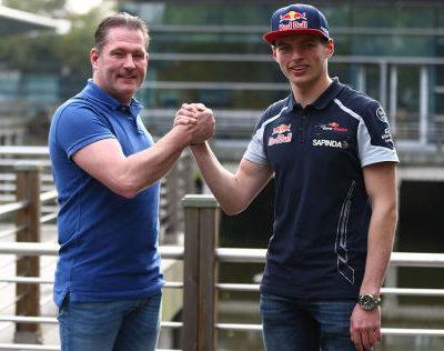 Jos und Max Verstappen. Credit: Toro Ross/F1-Insider.com