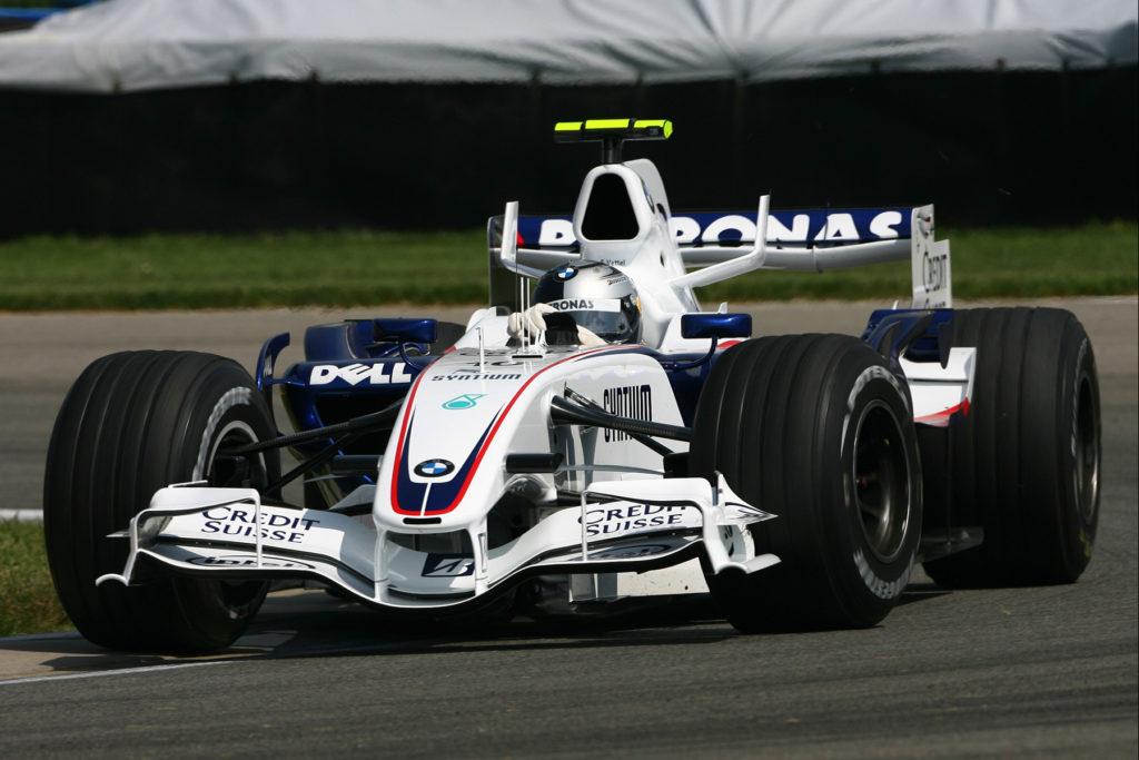 2007 fuhr Vettel seinen ersten F1-Grand-Prix Credit: BMW AG
