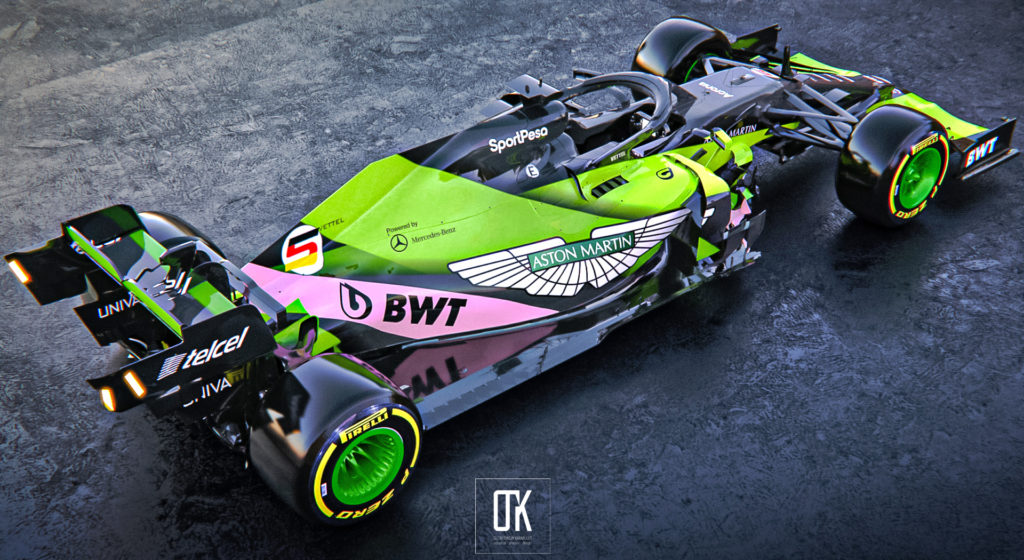 Vettel partly in pink: BWT stays with Aston Martin