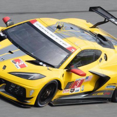 Corvette gewann die GTLM-Klasse in Daytona; Credit: Corvette/Twitter
