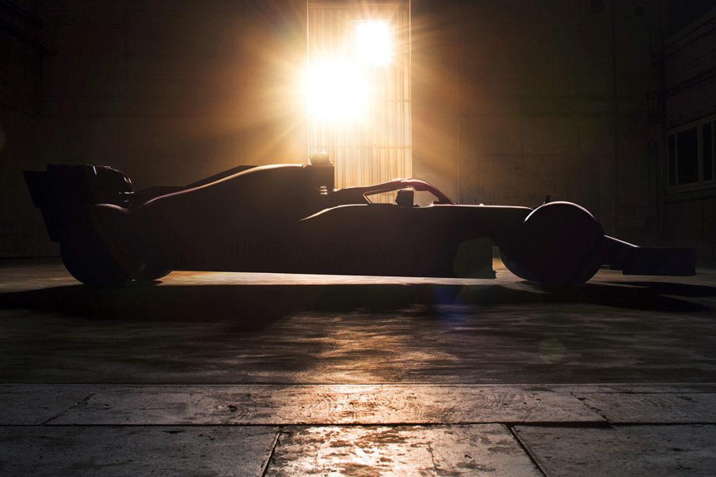 Alfa Romeo Racing Teaser Credit: Alfa Romeo/Twitter