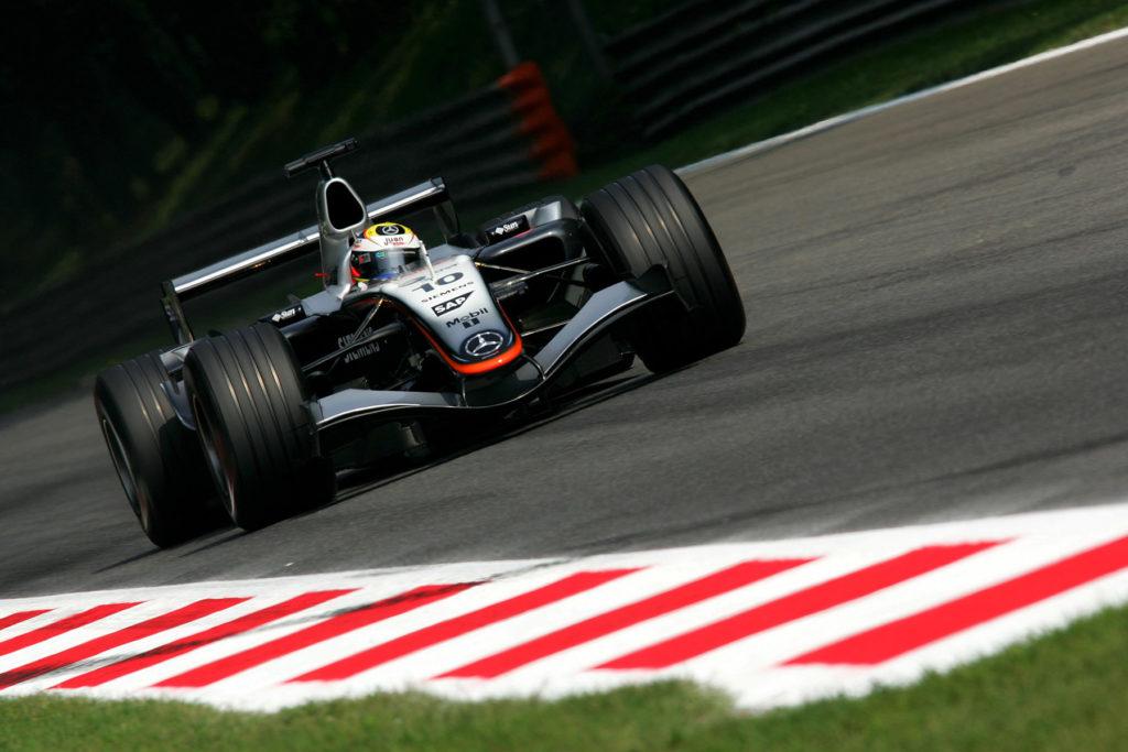 Juan Pablo Montoya Credit: McLaren