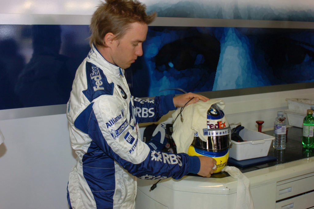 Nick Heidfeld 2005 Credit: BMW AG