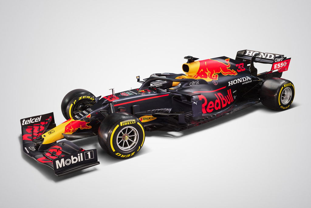 Der Red Bull RB16B Credit: Red Bull Content Pool