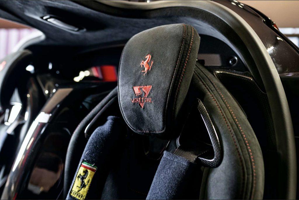 Vettels LaFerrari. Credit: Tom Hartley jr