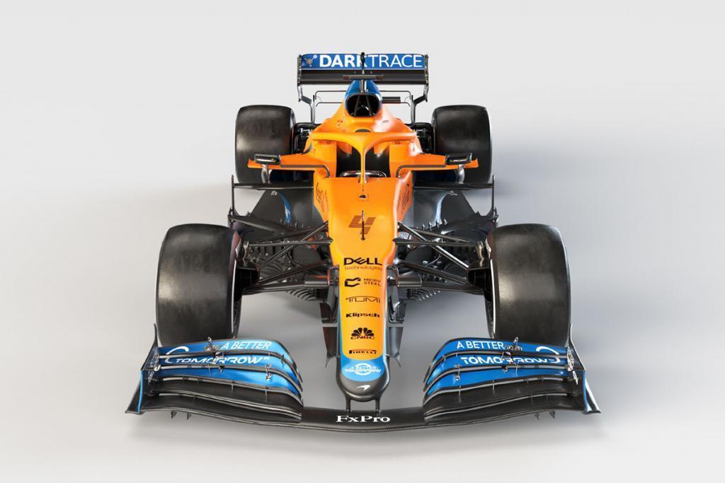 McLaren MCL35M Credit: McLaren