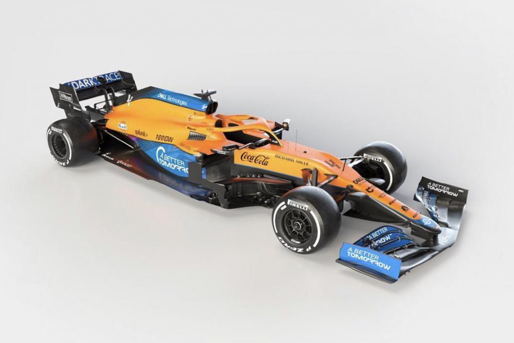 Der neue McLaren MCL35M Credit: McLaren