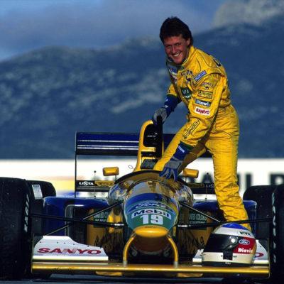 Michael Schumacher 1992. Credit: Michael Schumacher/Twitter