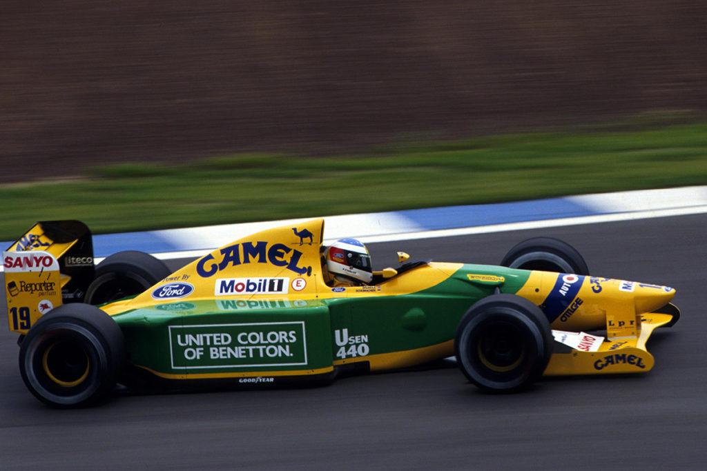 Michael Schumacher 1992. Credit: F1/Twitter