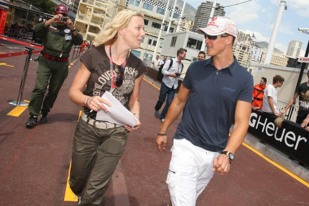 Michael Schumacher und Bianca Garloff