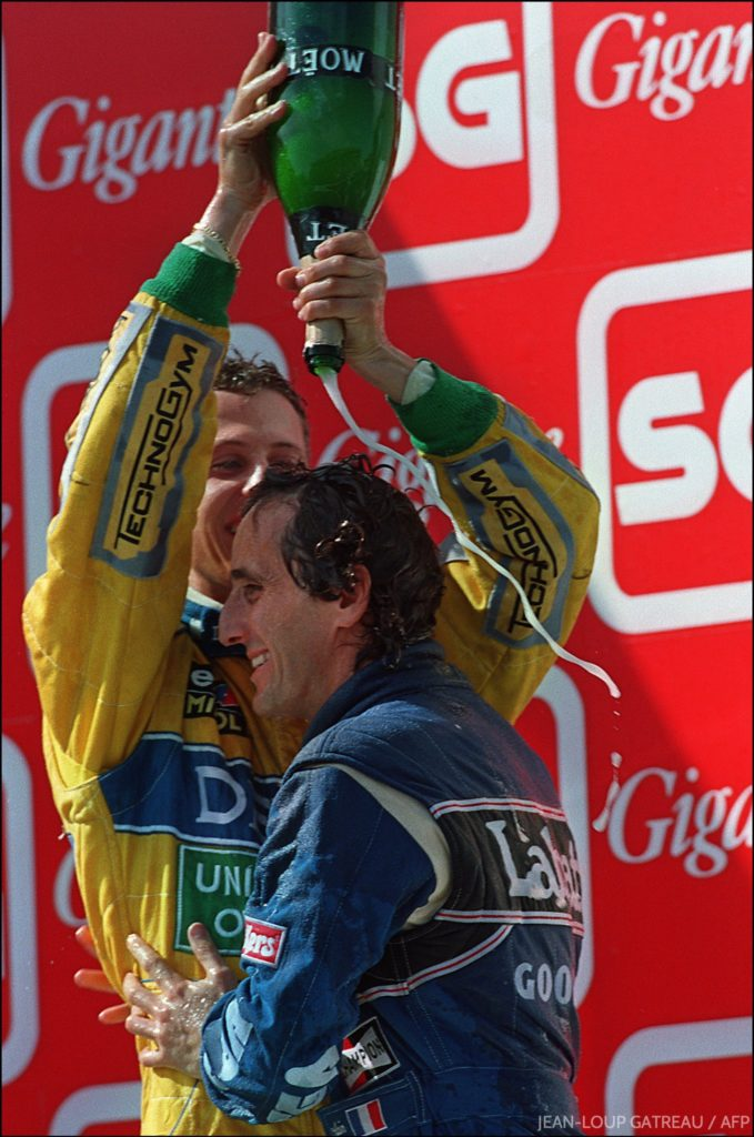 Michael Schumacher 1993 Credit: Schumacher/Twitter