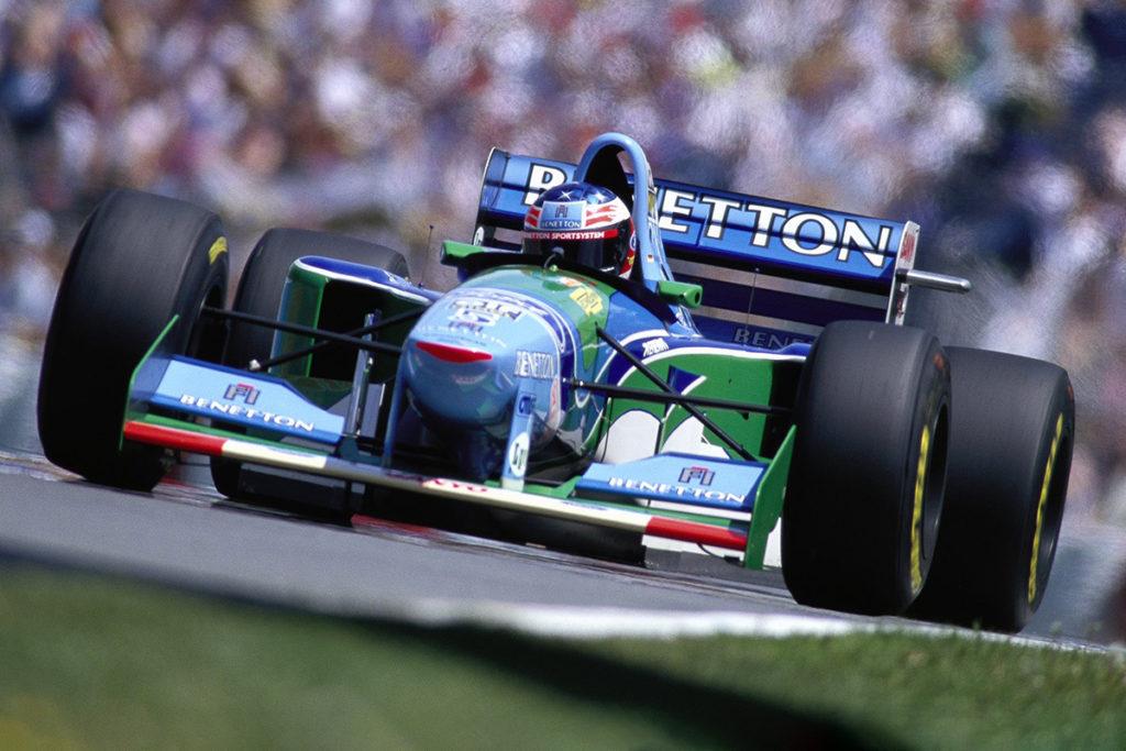 Michael Schumacher 1994 Credit: Schumacher/Twitter