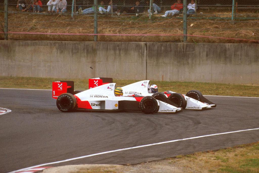Der legendäre Hassduell zwischen Ayrton Senna und Alain Prost Credit: McLaren/Twitter