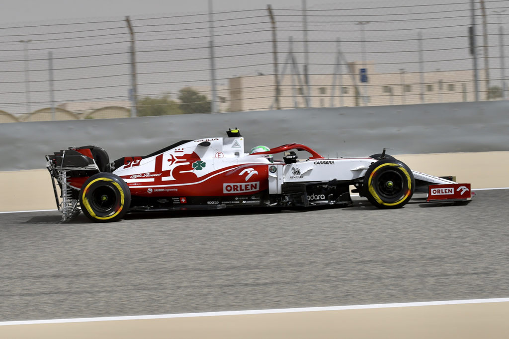 Formel 1 Alfa Romeo 2021