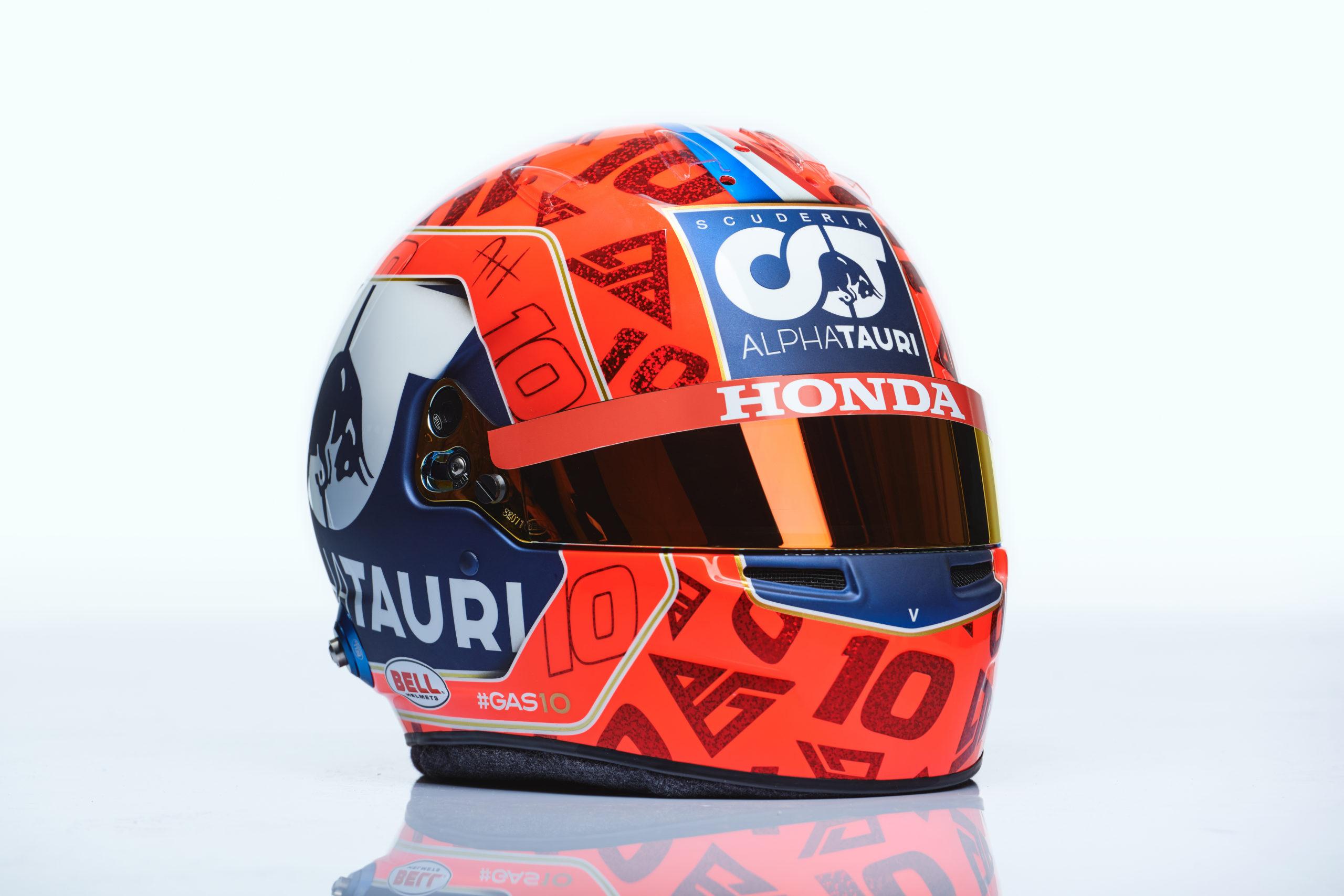 Formel 1 Helm 2021 Gasly