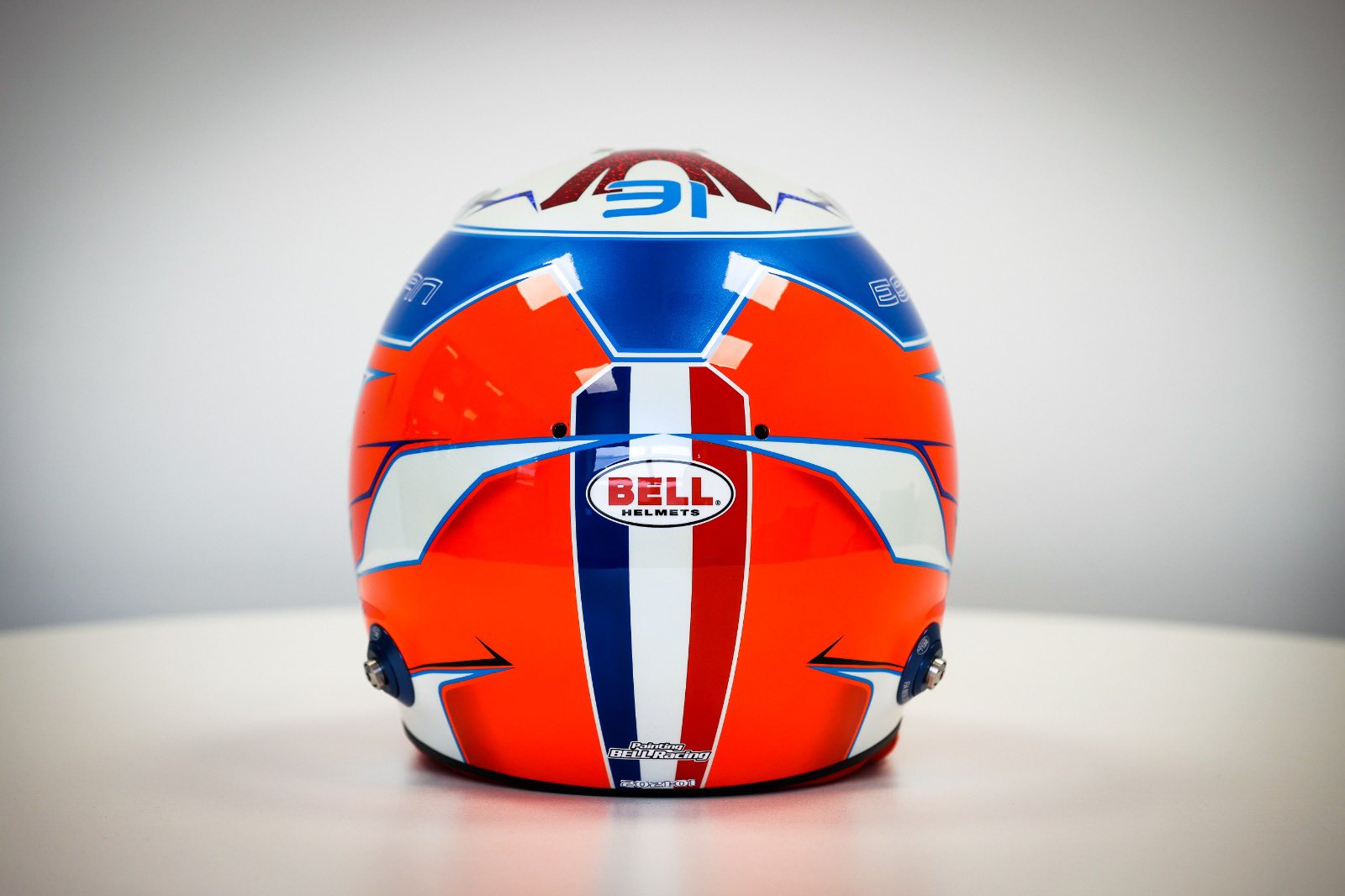 Formel 1 Helm 2021 Ocon