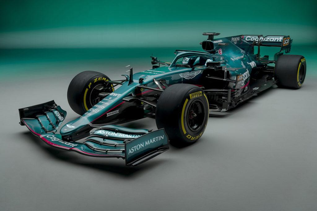 Formel 1 Aston Martin Amr21 Das Ist Vettels Neuer Aston Martin F1