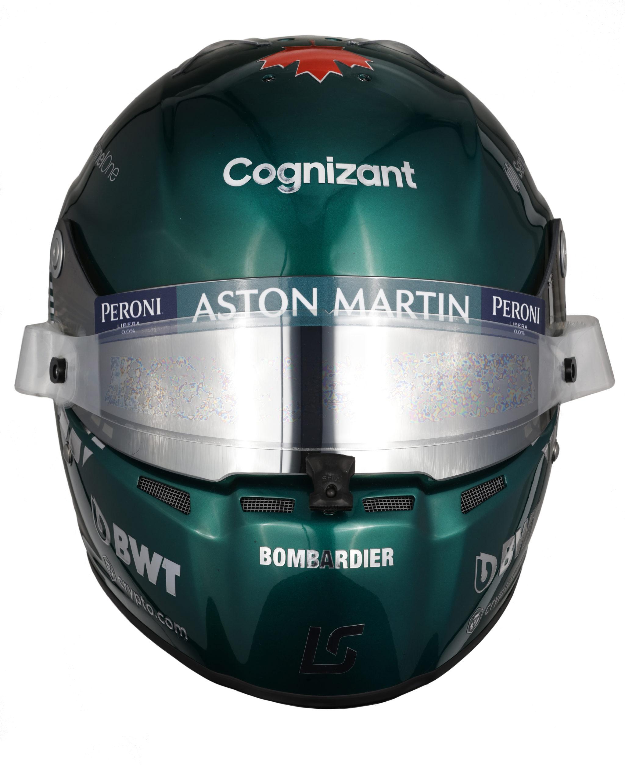 Formel 1 Helm 2021 Stroll