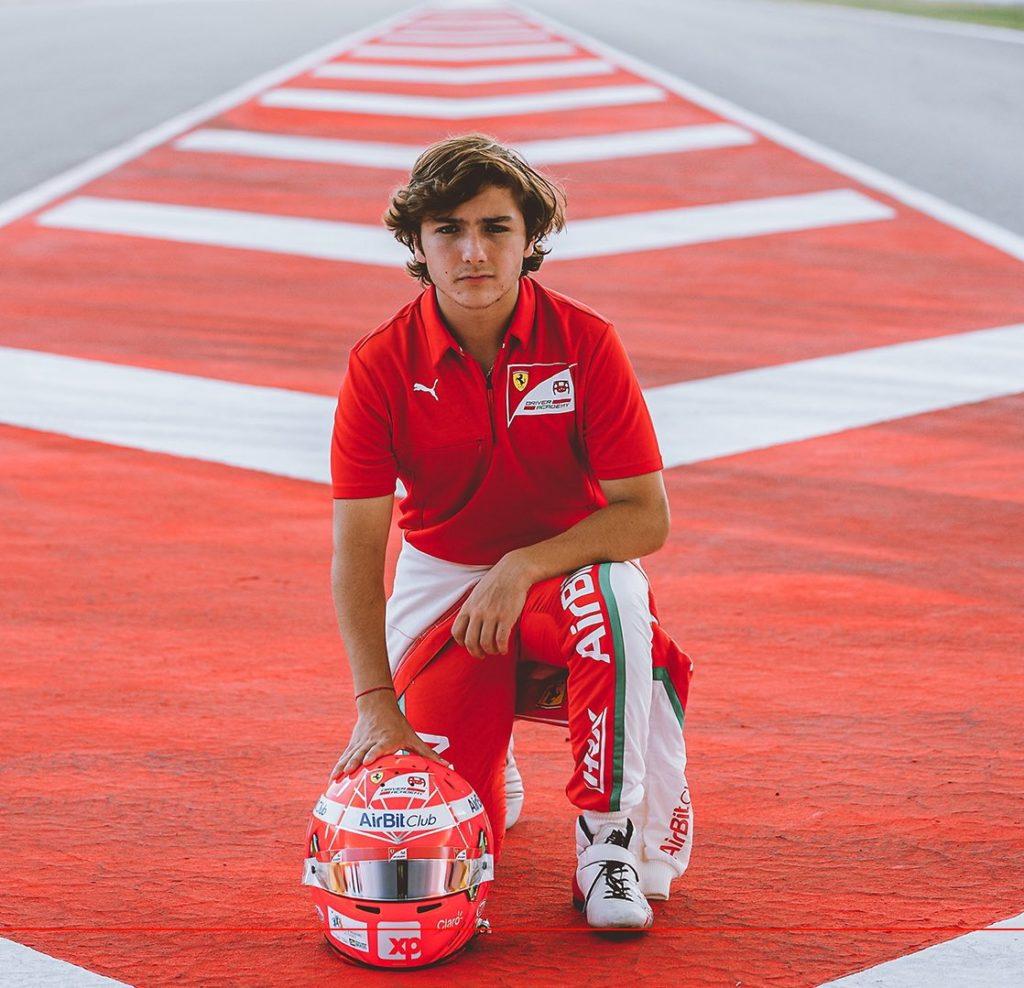 Enzo Fittipaldi Credit: Ferrari