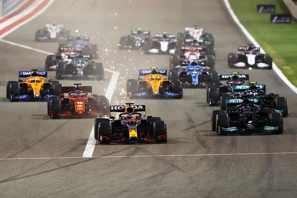 Formel 1 Bahrain Grand Prix Start 2021