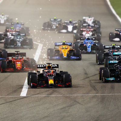 Formel 1 Bahrain Grand Prix Start 2021