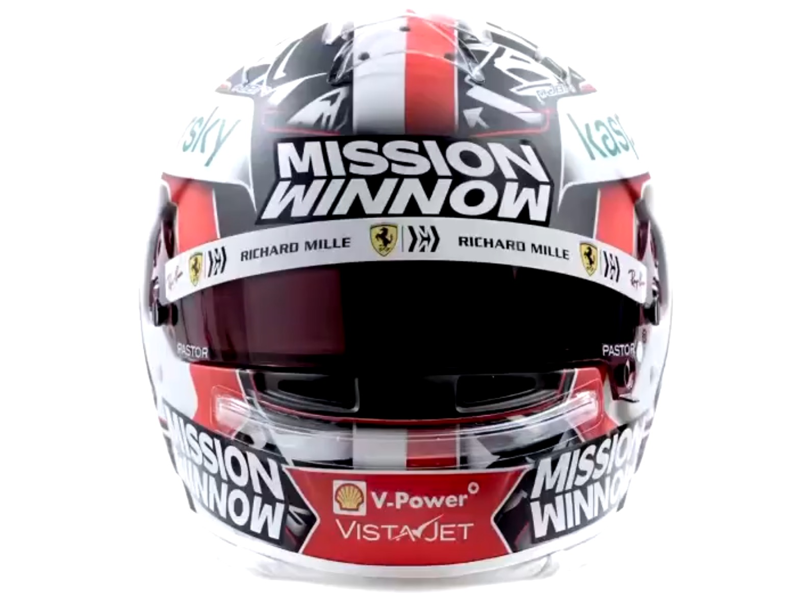 Formel 1 Helm 2021 Leclerc
