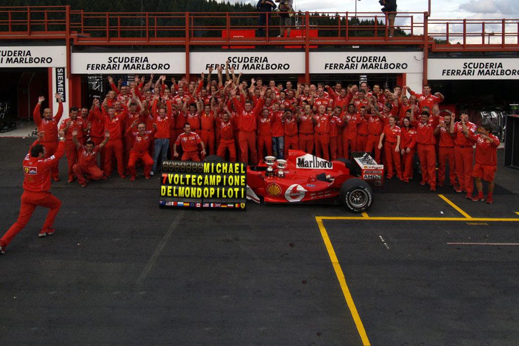 Formel 1 Ferrari Rekorde