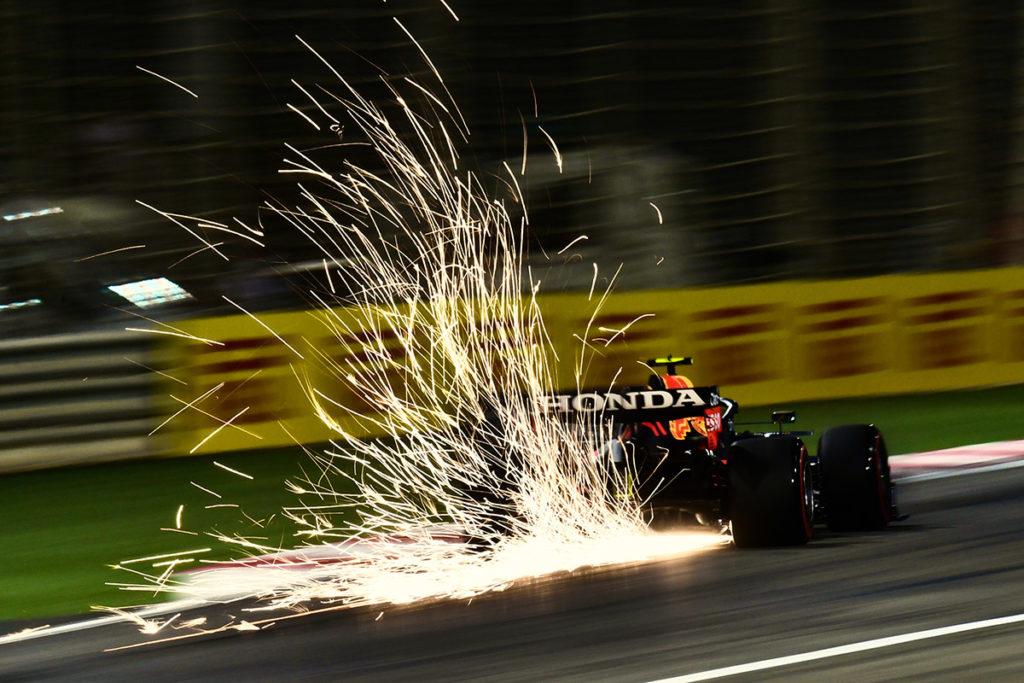 Formel 1 Honda Bahrain GP 2021 Sergio Perez