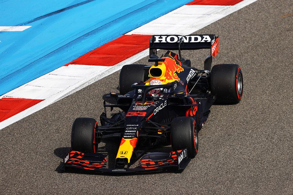 Formel 1 Max Verstappen Red Bull Bahrain 2021 FP1