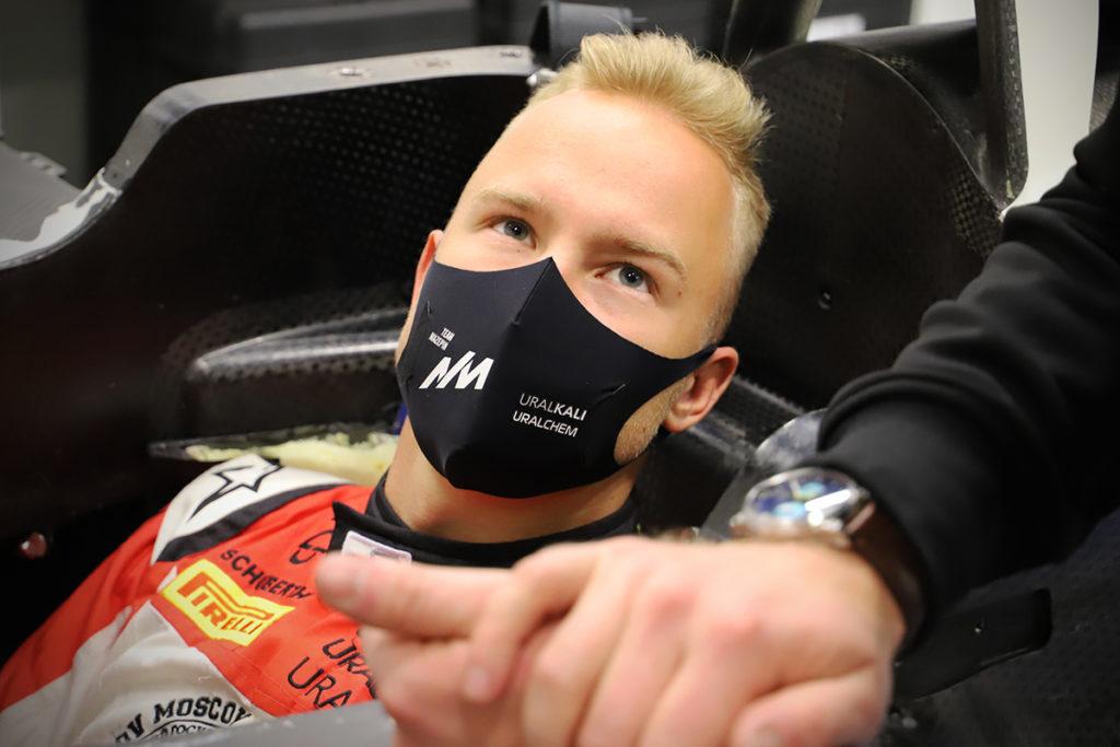 Nikita Mazepin (22) Credit: Haas