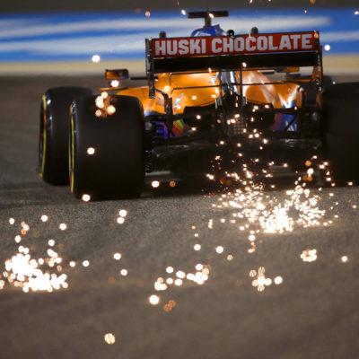 Formel 1 McLaren Bahrain GP 2021