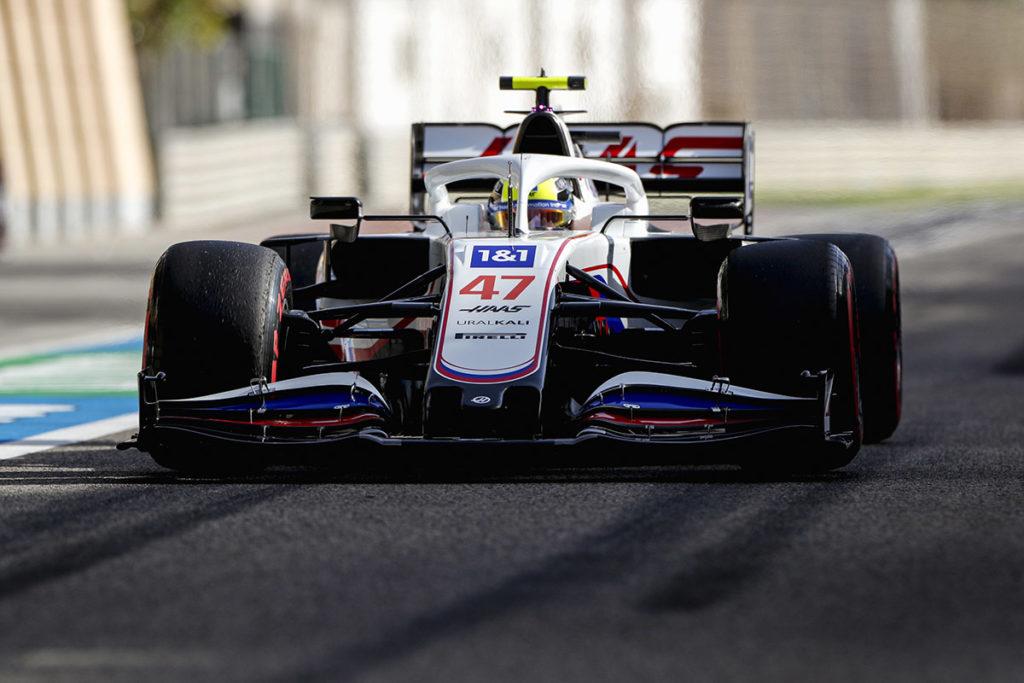 Formel 1 Mick Schumacher Bahrain 2021 FP3