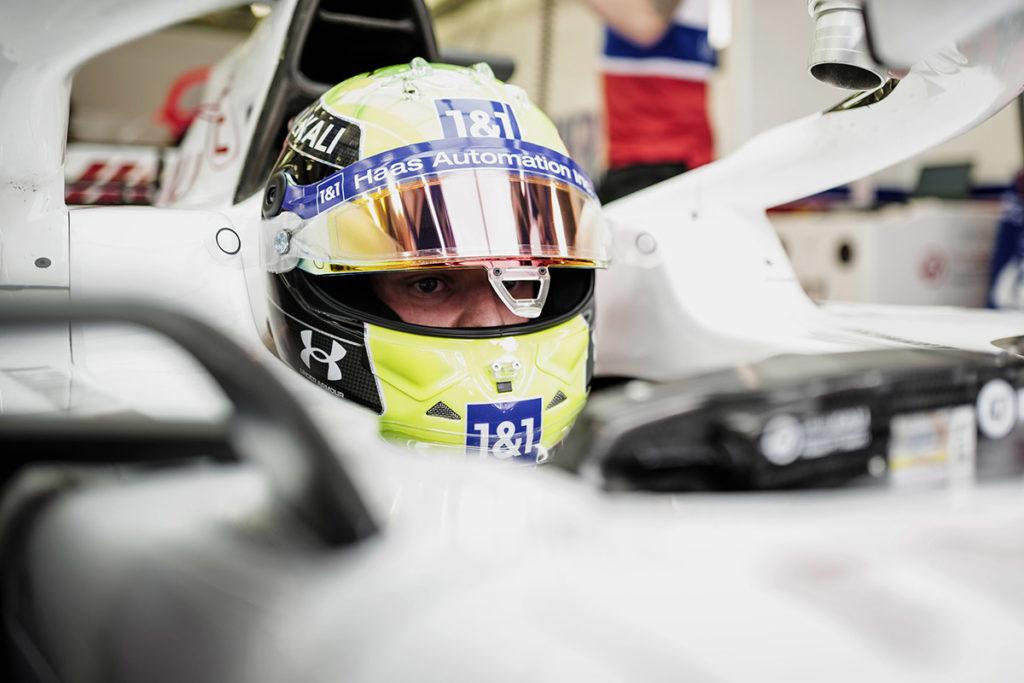 Formel 1 Mick Schumacher Bahrain 2021 Cockpit