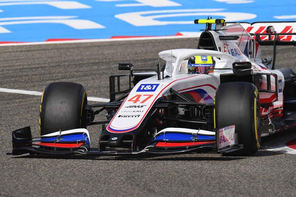 Formel 1 Mick Schumacher Haas Bahrain FP3
