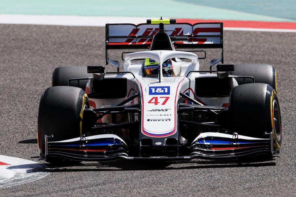 Formel 1 Mick Schumacher Bahrain GP 2021 FP1 Action