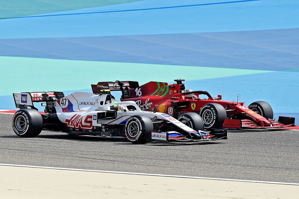 Mick Schumacher und Charles Leclerc Credit: F1/Twitter