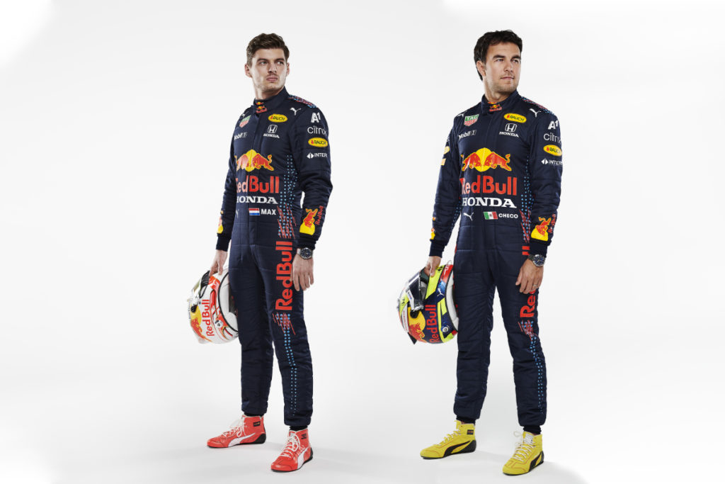 Max Verstappen und Sergio Perez Credit: Red Bull Content Pool