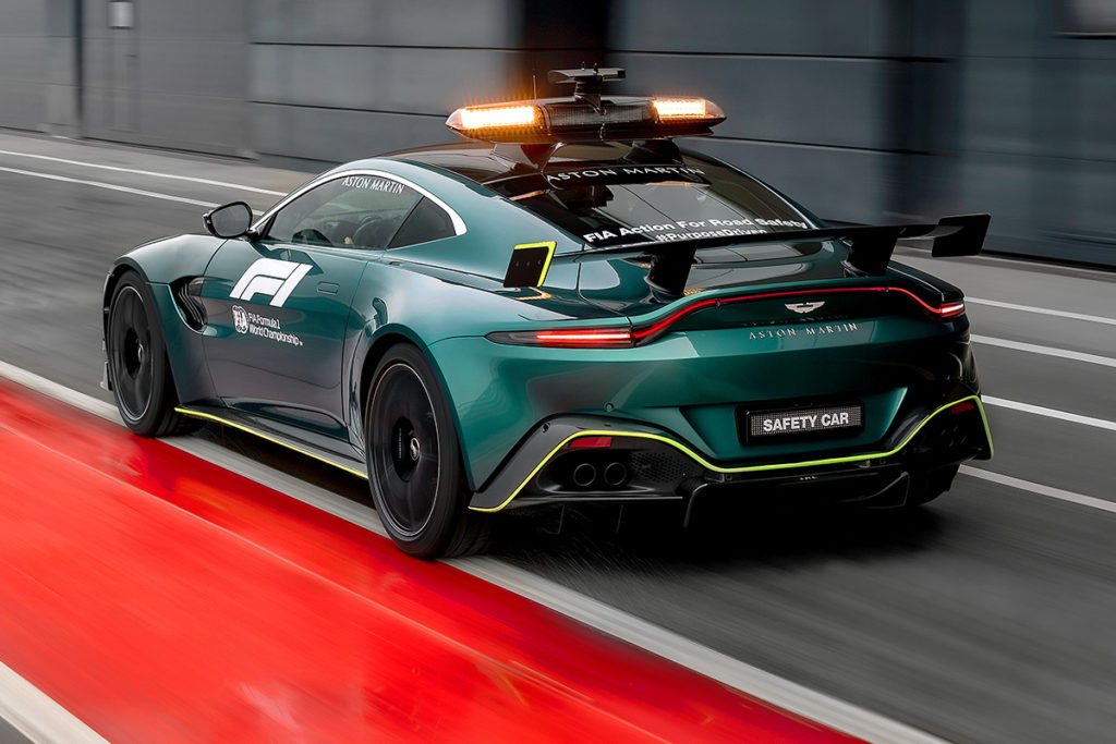 Aston Martin Vantage Safety Car