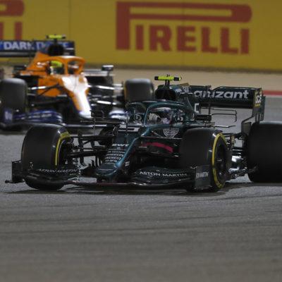 Formel 1 Vettel Bahrain GP 2021 Aston Martin