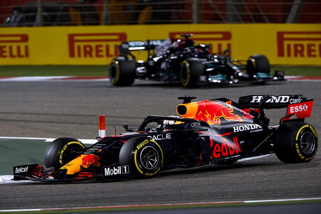 Formel 1 Verstappen Hamilton Bahrain GP 2021