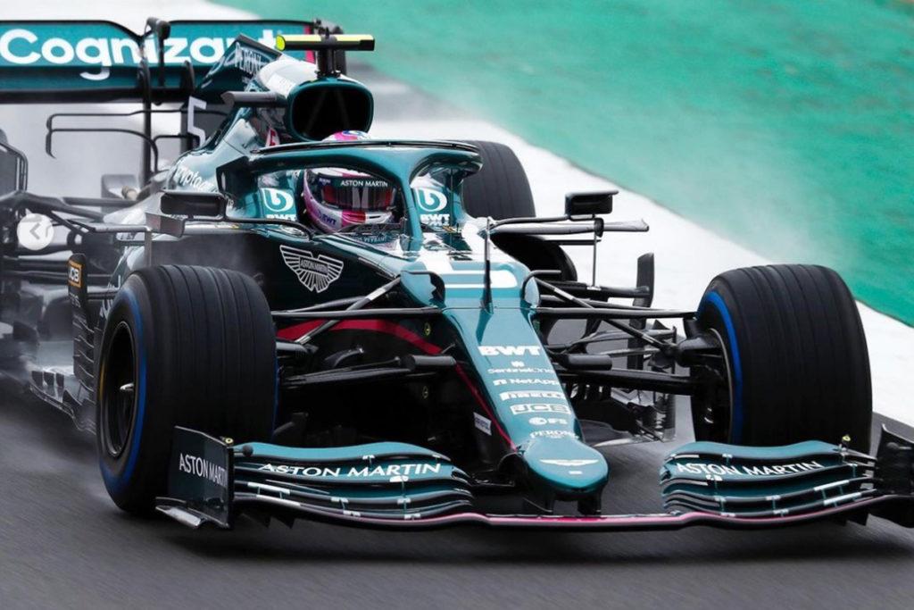 Sebastian Vettel Credit: Aston Martin/Instagram