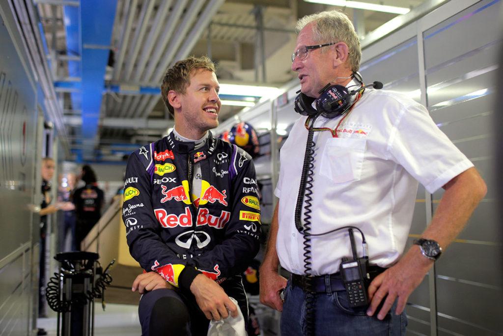 Formel 1 Sebastian Vettel Red Bull Helmut Marko