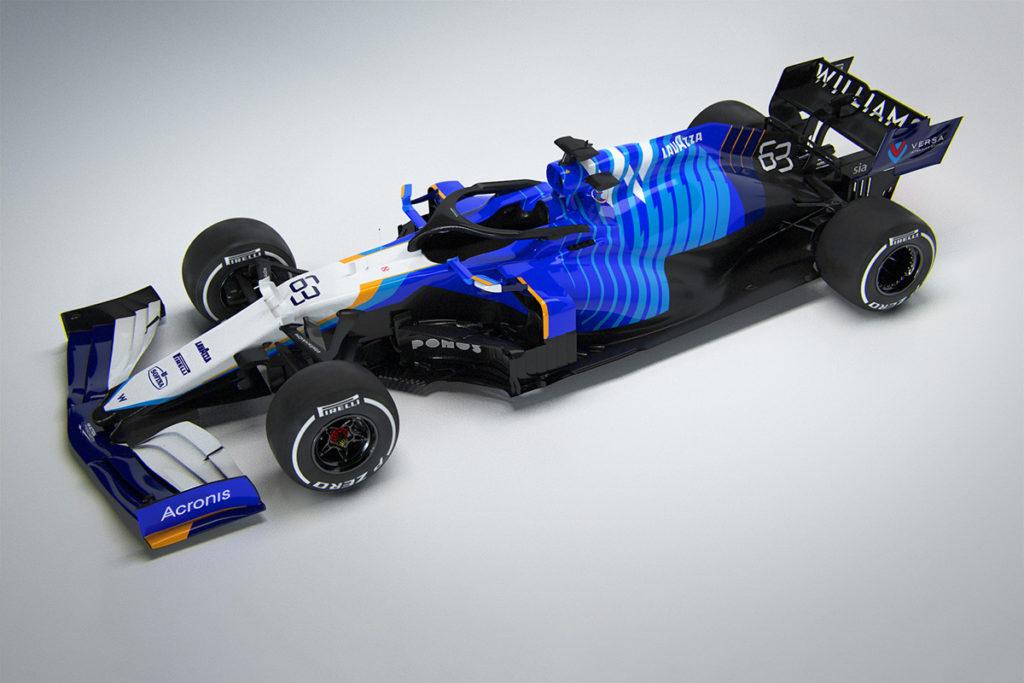 Der neue Williams Racing FW43B Credit: Williams