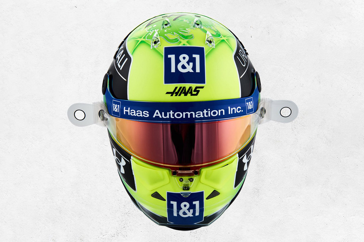 Mick Schumacher Credit: Haas/Twitter