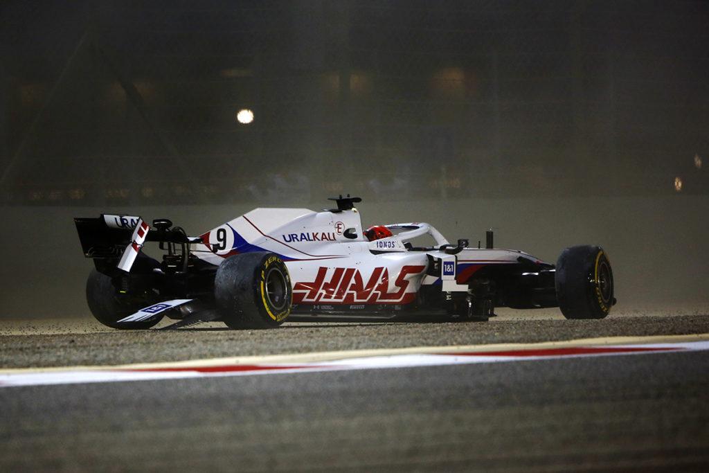 Formel 1 Nikita Mazepin Crash Bahrain GP 2021
